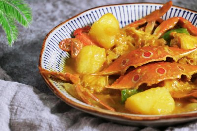 香浓咖喱蟹