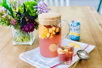 夏日水果冰饮