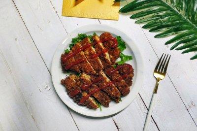 香酥鸡胸肉排