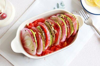 烤蔬菜沙拉