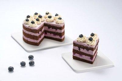 巧克力蓝莓裸蛋糕