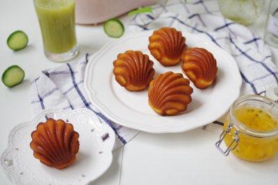 百香果玛德琳贝壳蛋糕