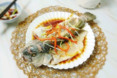 清蒸美国红鱼