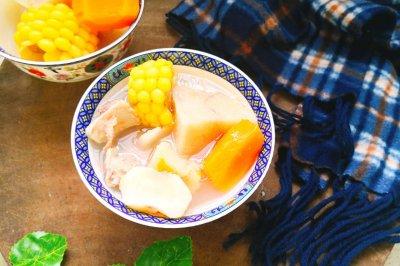 粉葛玉米骨头汤