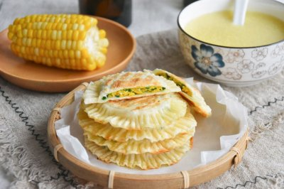 太阳饼饺皮版韭菜盒子