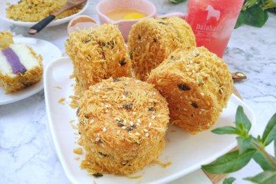 肉松小贝(紫薯芋泥馅)