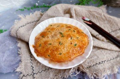 饺子皮葱油饼宝宝最爱早餐