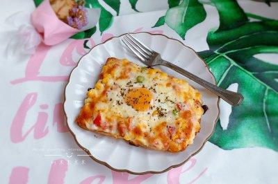 吐司太阳蛋宝宝最爱早餐