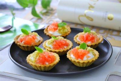 藜麦酸奶水果挞