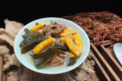 玉米海带骨头汤