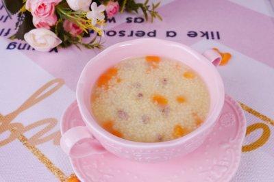 胡萝卜猪肝粥