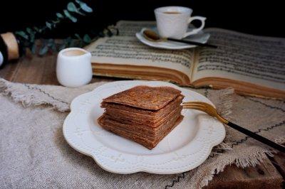 营养全面的杂粮蜂蜜小薄饼