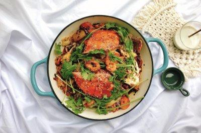 香辣虾蟹干锅