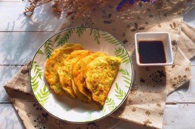 快手早餐西葫芦鸡蛋饼
