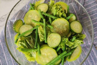越吃越凉快的绿色元气沙拉