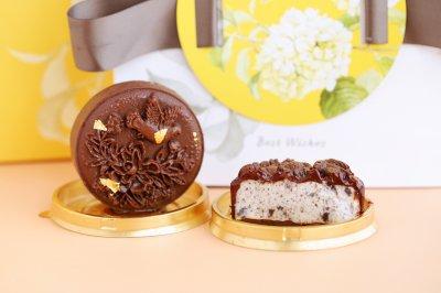奥利奥黑巧冰淇淋月饼