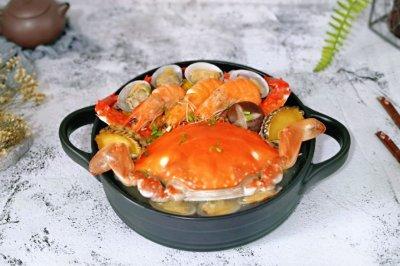 家庭版海鲜锅
