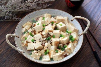 虾米豆腐煲