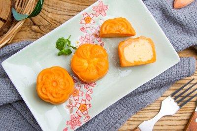 免烤红薯奶黄月饼