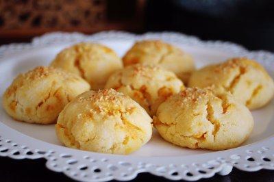咸蛋黄酥饼