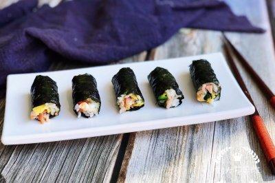 海苔版mini紫菜包饭