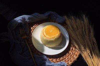 香橙蒸蛋糕好吃宝宝不上火