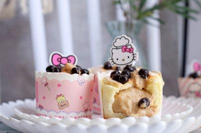 珍珠奶茶流心蛋糕