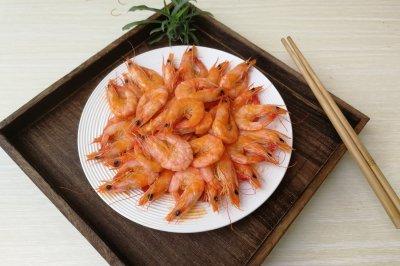 番茄酱汁虾