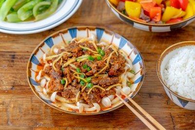 白玉菇蒸牛肉|懒人料理