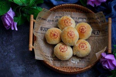 苏式鲜肉榨菜月饼