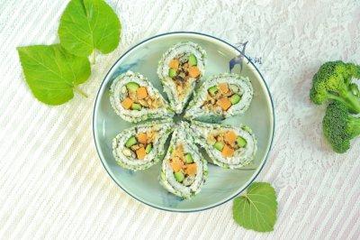 多春鱼肉松寿司