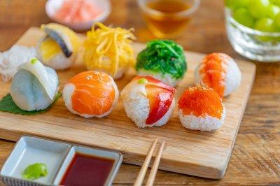手鞠寿司|玲珑可爱