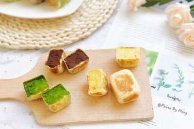 三种口味的仙豆糕超薄皮