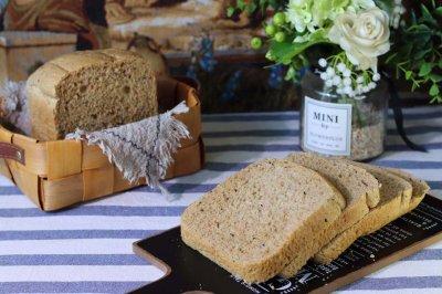面包机版100%全麦面包