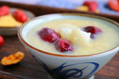 山药红枣小米粥