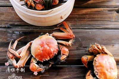 又到菊黄蟹肥秋正浓教大家做清蒸螃蟹