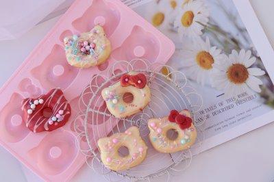 甜甜圈蛋糕(HelloKitty)