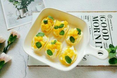 芒果薯泥沙拉