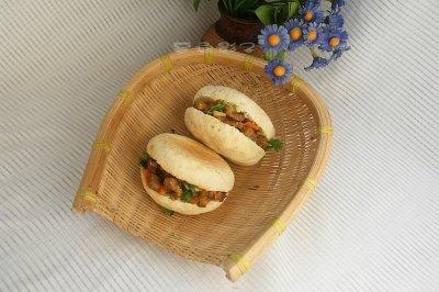 中式汉堡包夹馍
