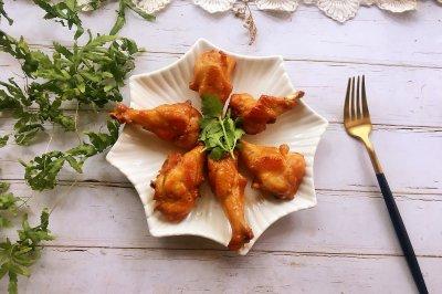 蒜蓉蚝油烤鸡翅根