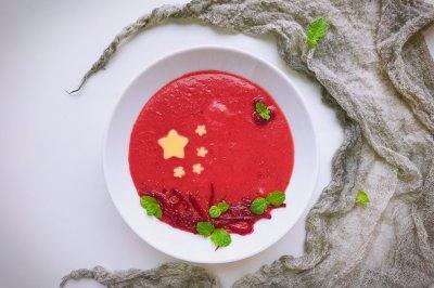 爱我中华爱国版甜菜根浓汤