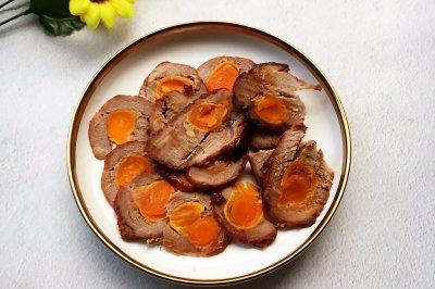 咸蛋叉烧肉