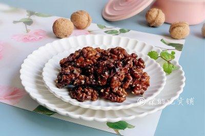 琥珀桃仁甜香酥脆秋冬季的最佳零食