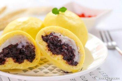 芋泥紫米包宝宝辅食食谱