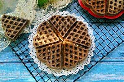巧克力华夫饼