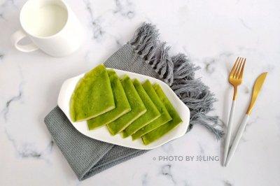 菠菜土豆泥卷饼