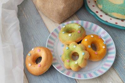 甜甜圈蛋糕