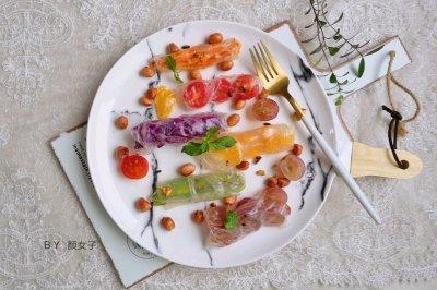 越南蒜香蔬果春卷沙拉