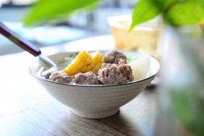 生汆牛肉丸子汤秋季养生汤