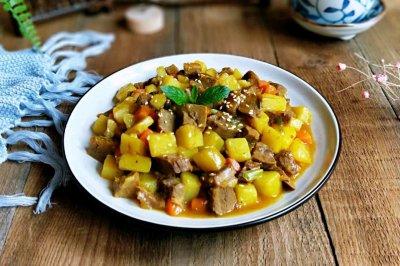 咖喱烩牛肉~贴秋膘